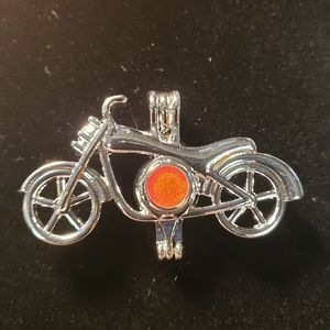Jewelry - Motorcycle cage necklace